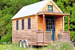 Malutki dom zdjęcie stock