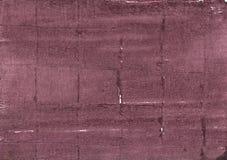 Malvafärgad bakgrund för taupeabstrakt begreppvattenfärg royaltyfria bilder