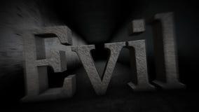 Malvagità nel corridoio Malvagità nello scuro 75 royalty illustrazione gratis