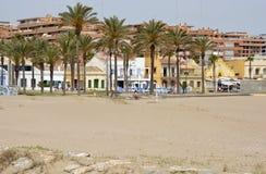 Malvarrosa Beach at Valencia, Spain Royalty Free Stock Photo