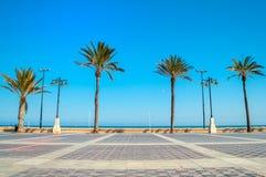 Malvarrosa plaża, Walencja, Hiszpania Fotografia Royalty Free