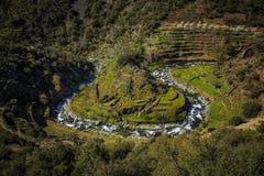 Malvellido. View from El Gasco belvedere, El Gastor, Las Hurdes, Spain Stock Photo