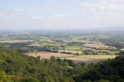 Malvern hills countryside Royalty Free Stock Photos