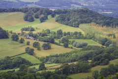 malvern kullar Arkivbild