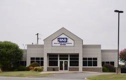 Malvern National Bank, Malvern Αρκάνσας στοκ φωτογραφίες