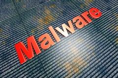 Malware Image libre de droits