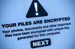 Malware photographie stock libre de droits