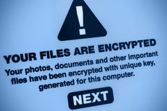 Malware Royaltyfri Fotografi