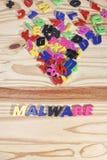 Malware Fotografie Stock Libere da Diritti