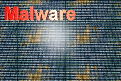 Malware Stock Image