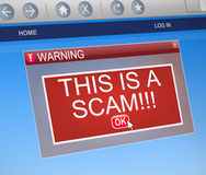 Malware concept. Royalty Free Stock Photo