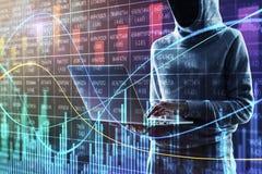 Malware en investeert concept royalty-vrije stock foto