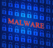 Malware Internet Represents World Wide Web And Www Royalty Free Stock Photo