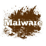 Malware Messy Blot Royalty Free Stock Images