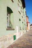 Maly Rynek in Krakau, Polen Royalty-vrije Stock Afbeelding