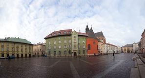 Maly Rynok Square, Krakow Old Town Royalty Free Stock Photography