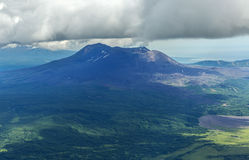 Maly Semyachik is a stratovolcano. Kronotsky Nature Reserve on Kamchatka Peninsula. Royalty Free Stock Photography