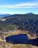 Maly Staw in Karkonosze. Mountains near polish-czech borders Royalty Free Stock Photography