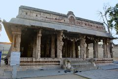 Malyavanta Raghunatha Temple entrance, Hampi, Karnataka. India stock photos