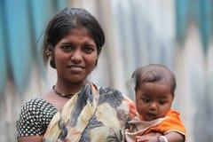 Mamá adolescente Fotografía de archivo libre de regalías