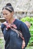 Mamá adolescente de Lantaen. Foto de archivo