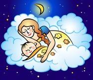 Mamá y bebé Imágenes de archivo libres de regalías