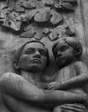 Mamá y muchacho Fotografía de archivo libre de regalías