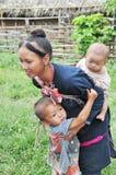 Mamã adolescente de Lantaen. Fotografia de Stock Royalty Free