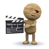 a mamã 3d egípcia faz um filme ilustração royalty free