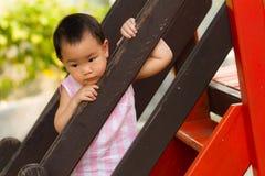 Mamã de espera da menina Imagem de Stock