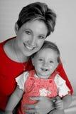 Mamã do bebê Fotografia de Stock Royalty Free
