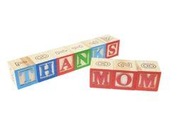 Mamã dos agradecimentos Fotos de Stock Royalty Free