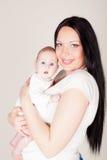 Mamã e bebê Imagem de Stock