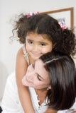 Mamã e filha imagem de stock royalty free