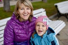 Mamã e filha fotos de stock royalty free
