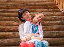 Mamã e filha Fotografia de Stock Royalty Free