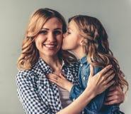 Mamã e filha foto de stock royalty free