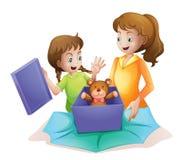 Mamã e miúdo Fotografia de Stock Royalty Free