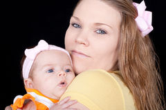 Mamã feliz Fotografia de Stock Royalty Free