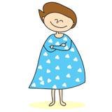 Mamã Hand-drawn dos desenhos animados Fotos de Stock Royalty Free