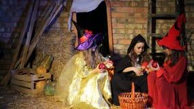 A mamã rouba de três bruxas dos doces filme