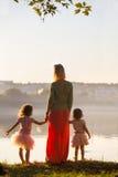 Mamãe com filha Foto de Stock Royalty Free