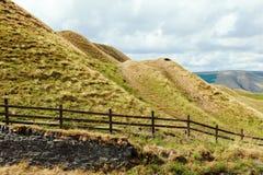 Mam突岩,高峰区 英国 免版税库存照片