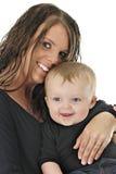 Mamã e bebé Fotografia de Stock