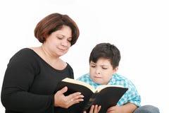 Mamã e filho Imagem de Stock