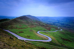 MaM Tor in the peak district. UK stock image