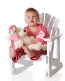 Mam3a del bebé y bebé oscilantes Fotos de archivo