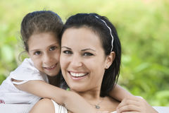 With mama Royalty Free Stock Photography