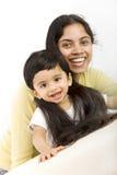 Mama con el niño Fotografía de archivo libre de regalías