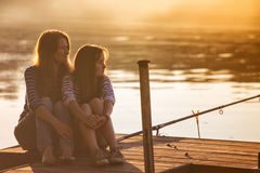 Mama with daughter Royalty Free Stock Images